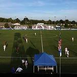 UK's soccer stadium.