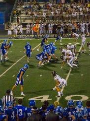 High school football: Lone Peak at Dixie, Friday, August