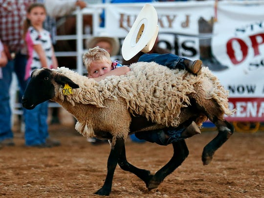 Mutton busting for the younger crowd will be part of