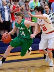 Dylan Morris scored 13 points Thursday.