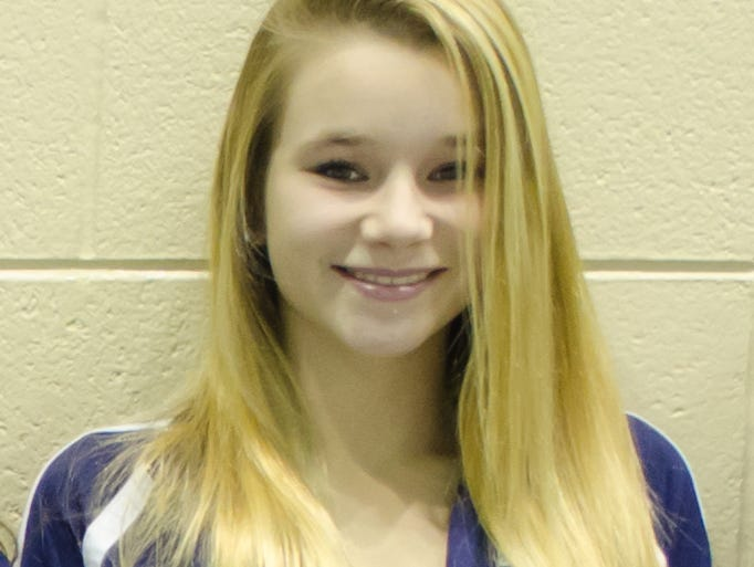 East Lansing freshman Mary Phillips was named the LSJ girls diver of the year.