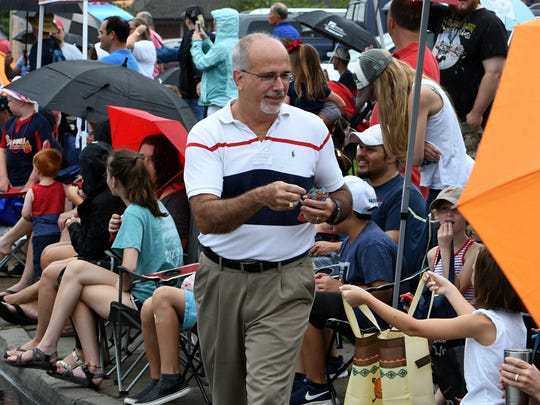 Roger Kane during the 30th annual Town of Farragut