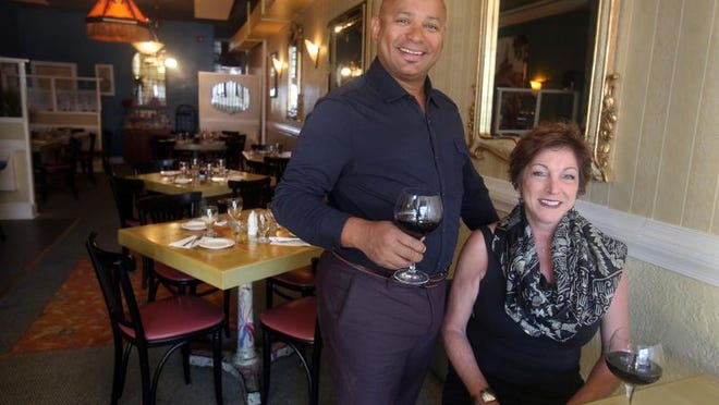 Stephane Kane and his wife Maria Carusso are the owners Bistro Parisien, a new French restaurant in Eastchester.