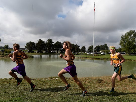 Runners compete Saturday, Oct. 1, 2016 in the TEC Cross