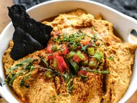 NFL Tailgating Recipe: Harrisa Smoked Hummus