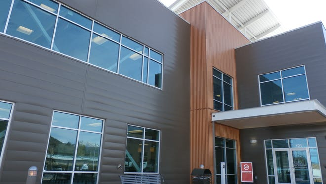 A new building for physicians and related professional services was built in the hospital complex a few years ago.