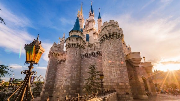 Cinderella Castle at Disney World's Magic Kingdom.