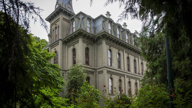 """The University of Oregon's Board of Trustees will revisit the issue of renaming Deady Hall on campus after board member Andrew Colas called on his fellow trustees to """"take a stand"""" to better support black students on campus. [Andy Nelson/The Register-Guard] - registerguard.com"""