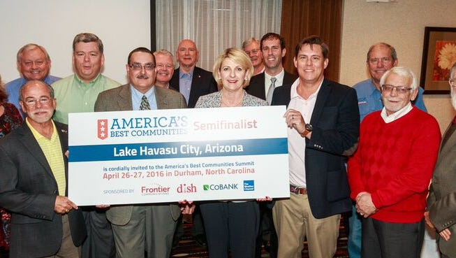 Lake Havasu City moves on to the semi-finalist round of the America's Best Communities competition.