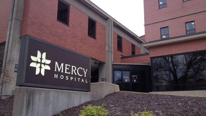 Mercy Iowa City announced a partnership with UnityPoint Health in Cedar Rapids on Dec. 12, 2016.