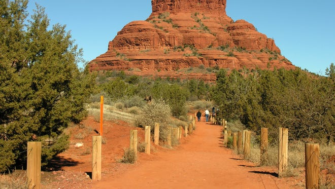 You won't need a Red Rock Pass to park at the Bell Rock Trailhead this Thanksgiving.