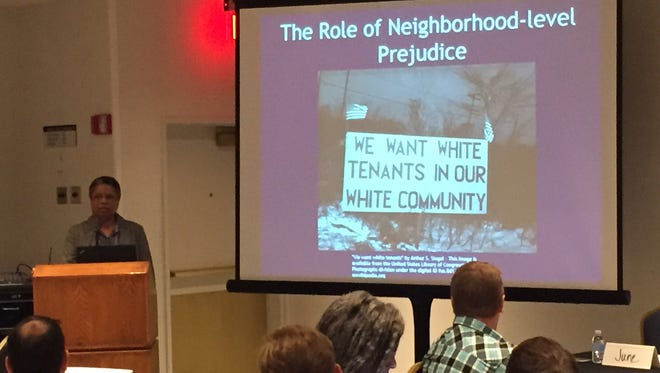June Manning Thomas, a planning professor at the University of Michigan, talks about equality in urban revitalization.