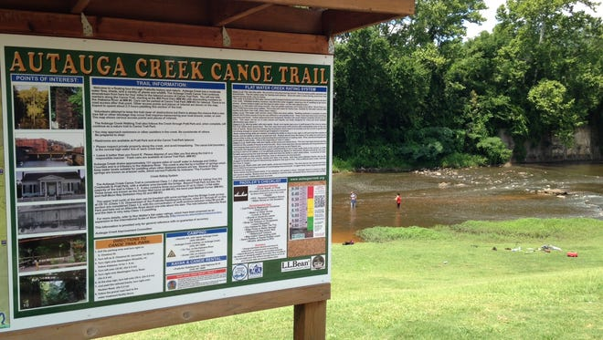 The National Park Service has designated a stretch of the waterway as being National Recreational Trail.