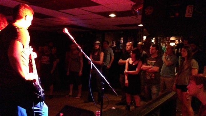 Chemtrail rocks the Court Tavern in New Brunswick on Friday, Sept. 4.