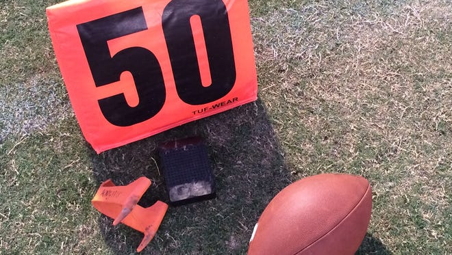 The frustration of Shadow Hills' 21-14 De Anza League varsity football loss Friday against Twentynine Palms can best be seen in two facts.