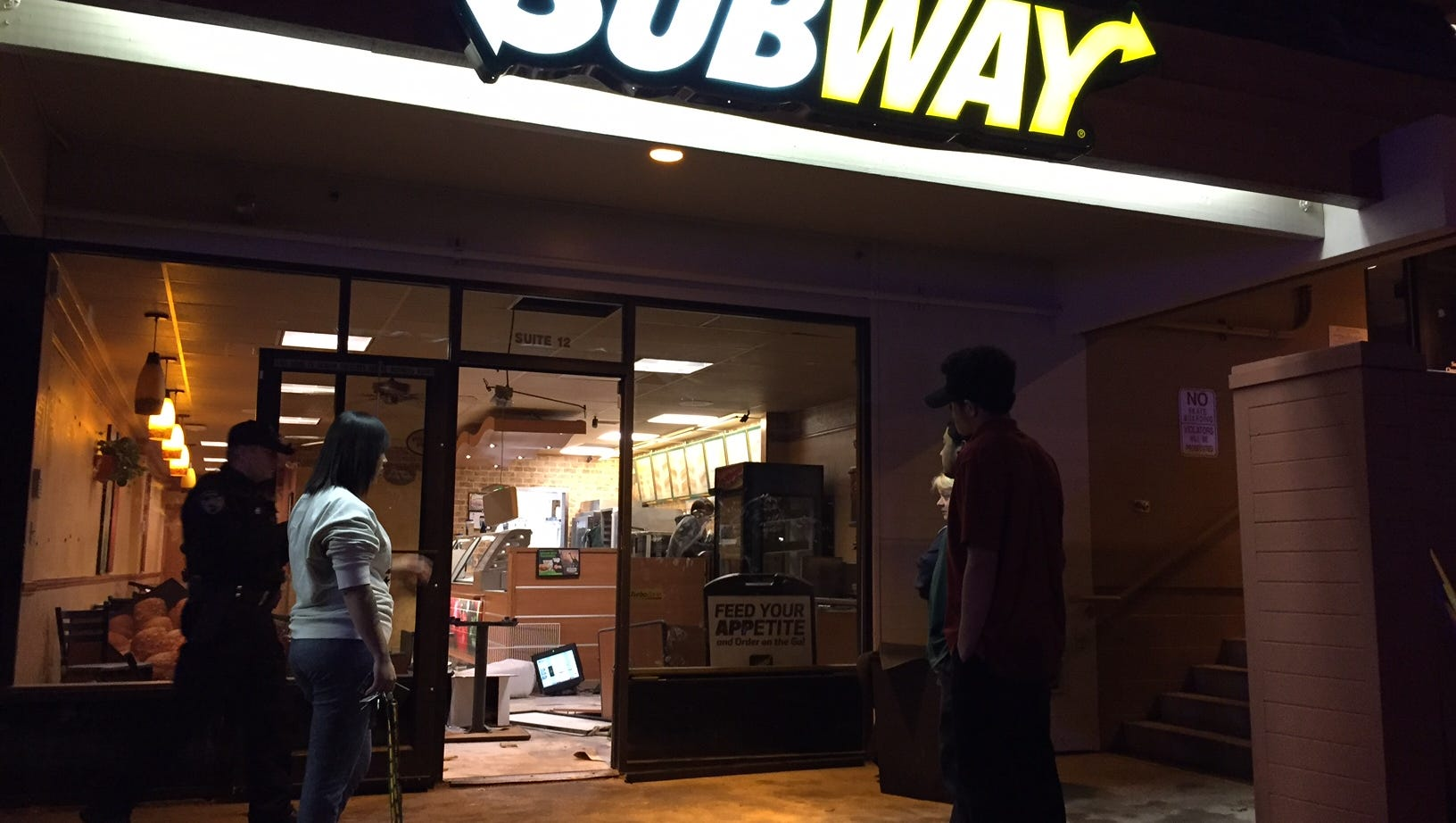 Naked woman trashes Subway restaurant in Alaska, believed