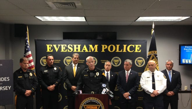 Evesham Police Chief Christopher Chew talks about the success of the Evesham Saving Lives program, which has been extended.