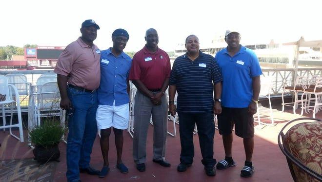Charlie Hunt, Eddie McMillan. Jesse Solomon, Bobby Anderson and J.T. Thomas meet on Oct. 16.