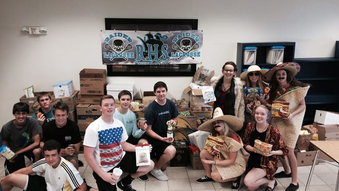 Rockledge High lacrosse players will be outside Publix Saturday collecting food for the school's pantry.