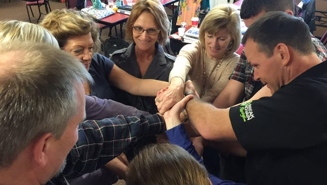 Stayton-Sublimity community cohort from previous leadership programs