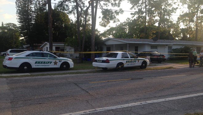 The Lee County Sheriff's Office investigated a stabbing on Sunday afternoon on Oak Drive in Pine Manor.