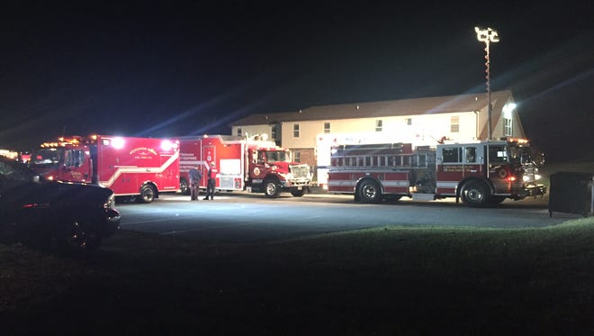 Multiple units responded to the first block of Quigley Boulevard near New Castle for a report of an unknown odor.
