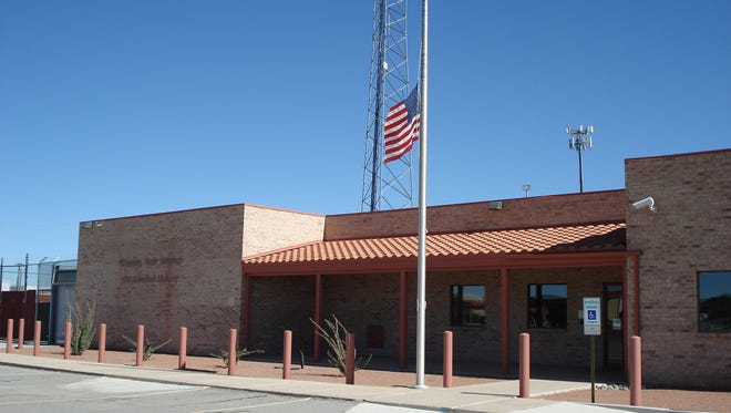 Flags around the state were flown at half-mast on Tuesday in honor of slain Albuquerque Police Officer Daniel Webster.
