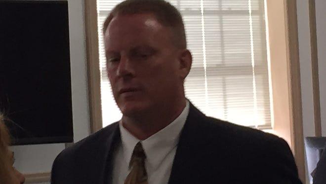 Ex-Rockaway Township Police Sgt. Christopher Stahl