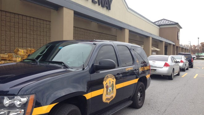 A WSFS bank at Naamans and Foulk Roads was robbed on Monday afternoon.