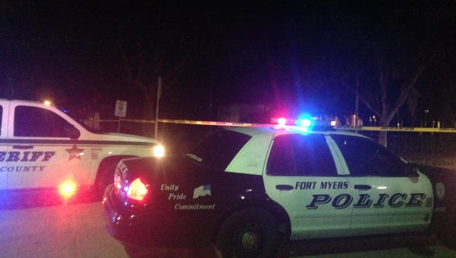 Shooting at City of Palms parking lot.