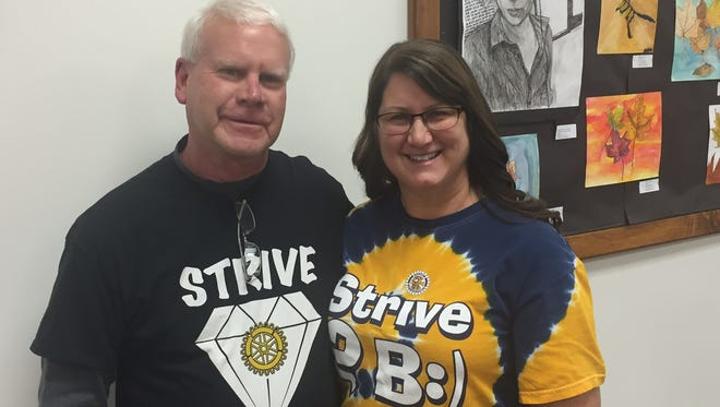 Having coordinated numerous activities to assist students at Shattuck Middle School, Dave and Dana Kohlmeyer have been selected as recipients of the Neenah Board of Education Passion for Excellence Award.