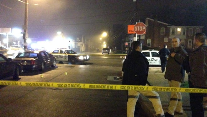 Wilmington Police responded to a shooting near the intersection of Concord Avenue and N. Monroe on Thursday night.