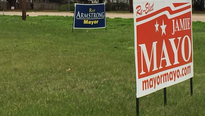 Ordinances  address legal placement of political signs