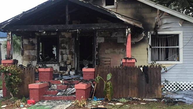 A home in Scenic Heights was severely damaged by fire early this morning. Local officials believe someone may have set the blaze intentionally.