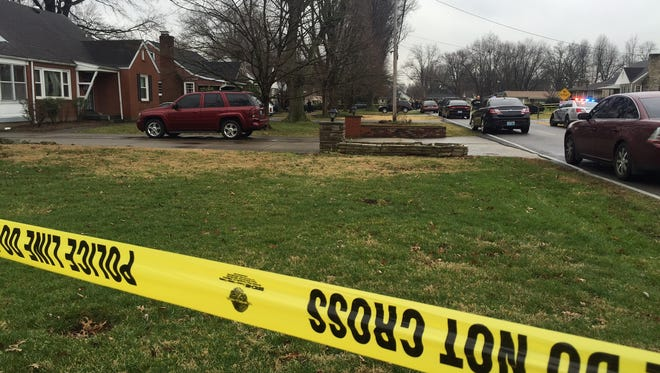 A Shively police officer was shot in the 4100 block of Eden Lane.