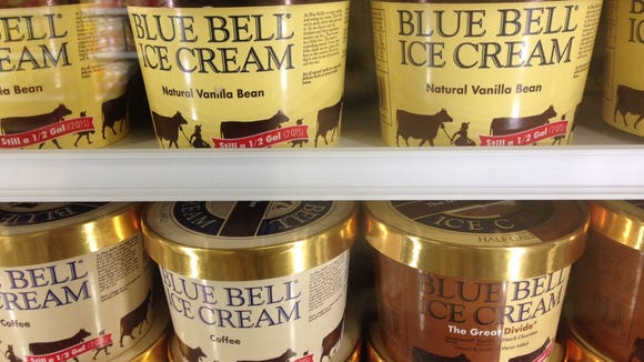 As of Monday, Space Coast stores have been restocked with Blue Bell Ice Cream.