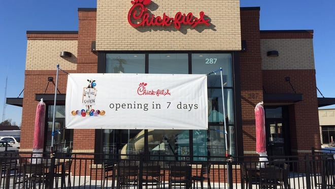 The first Chick-fil-A in Hunterdon and Somerset counties will open Feb. 4 on Route 202-31 south of the Flemington Circle.