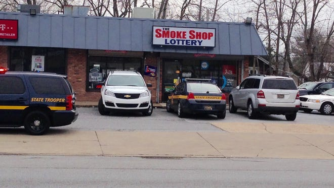 Delaware State Police are investigating a robbery that occurred in the Smoke Shop in Elsmere.