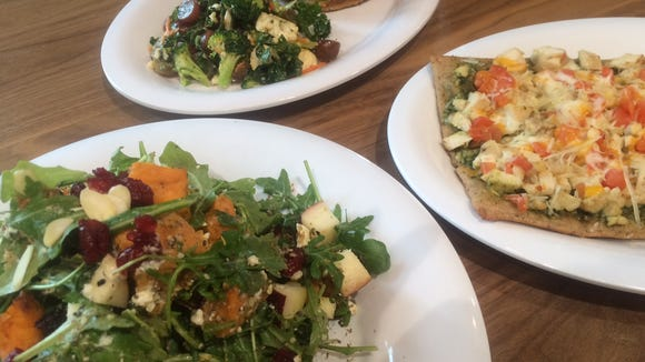 Salads, sandwiches and ancient grains flatbreads are big lunch sellers at Life Cafe.