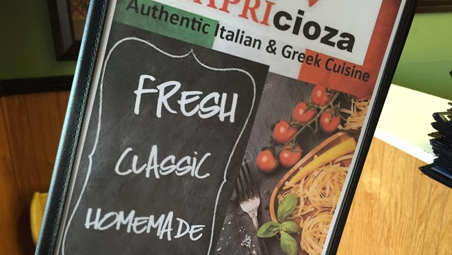 Capricioza honors the legacy and food of the original Capri's Italian restaurants.