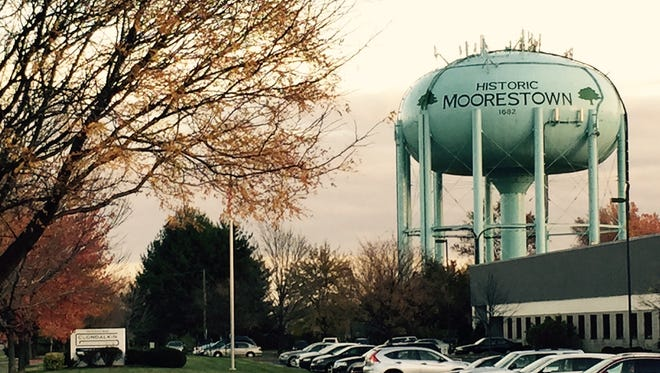 Moorestown water tower on North Church Road.