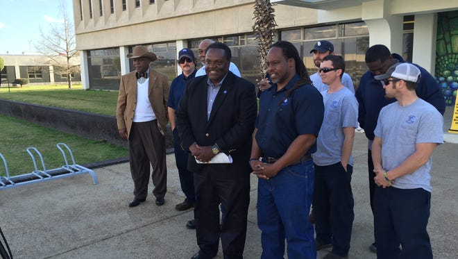 Monroe Mayor Jamie Mayo received two endorsements in his reelection bid Thursday.
