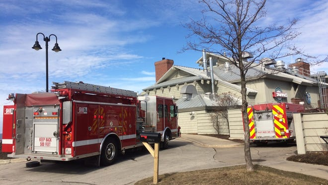 The Sturgeon Bay Fire Department was called to Sonny's Pizzeria in Sturgeon Bay Monday afternoon for a small fire.