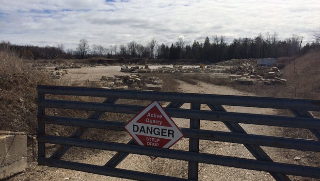 The village of Sister Bay has voted to acquire this quarry.