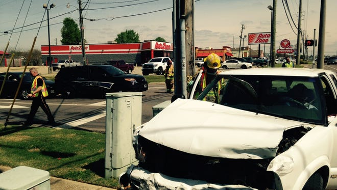 A Prattville PD patrol unit was involved in a four car accident Friday afternoon that resulted in minor injuries.