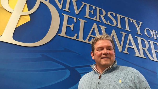 Delaware interim athletic director Matt Robinson