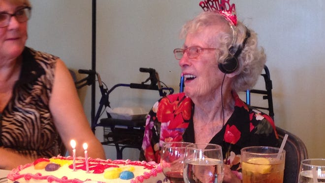 Dorothy Sibson, a one-time active member of the local real estate community, celebrated her 100th birthday earlier this week at party put on for her by the Space Coast Association of Realtors at the Rockledge Country Club.