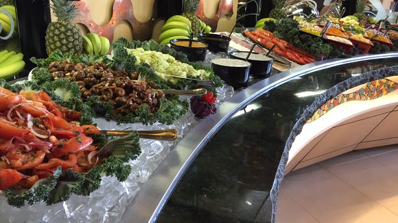 The Salad Festival at Tucanos includes over 70 items.