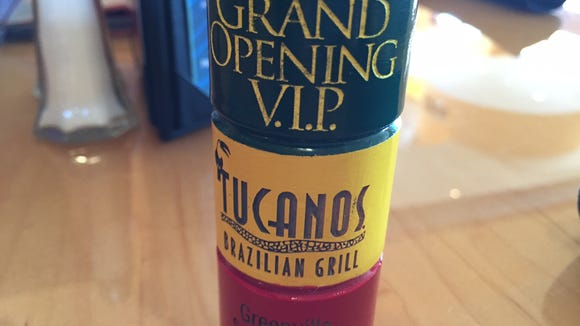 Tucanos is holding a special contest leading up to the restaurant's VIP grans opening April 27.