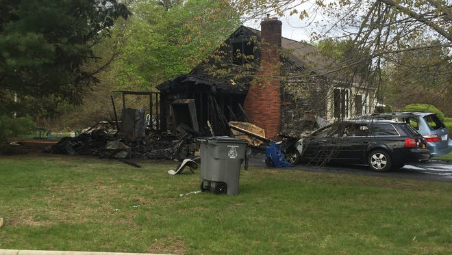 A Town of Poughkeepsie home sustained serious damage during a structure fire early Friday morning.